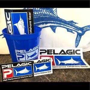 Pelagic Decal/Sticker & Cup Set